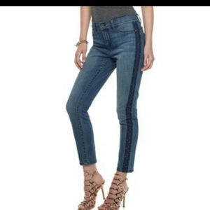Juicy Couture Embellished Skinny Jeans